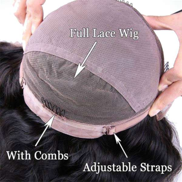 straight human hair wig instructions